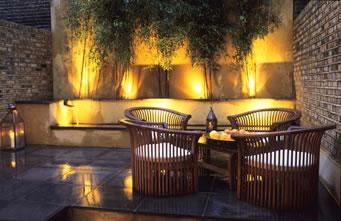 jardin iluminacion decoration garden pinterest patios backyard and lights