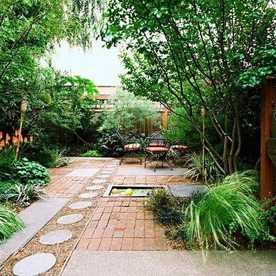 Ideas para decorar un patio o jardín trasero – Jardin Decocasa
