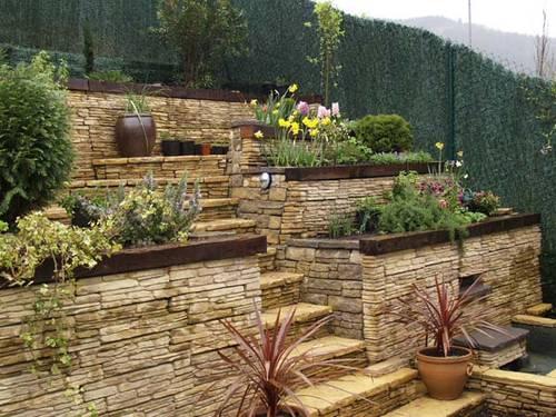 Escaleras de exterior: caminos al paraíso – Jardin Decocasa