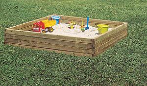 para los bebs y los chiquitines opten por rinconcitos con arena o pequeas piletitas para chapotear with parques infantiles para jardin