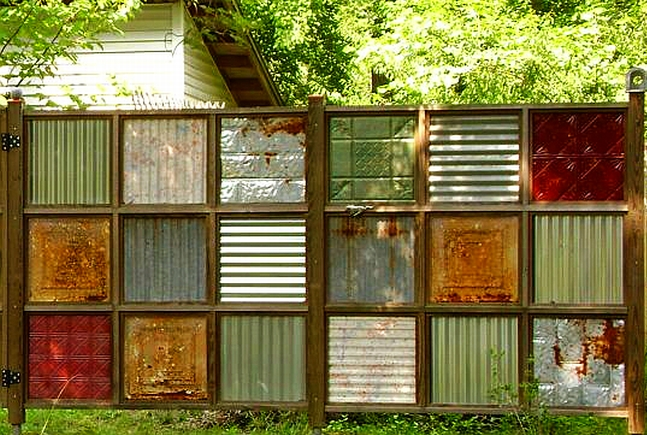 cercas y vallas diseo estilo y color para cerrar parques jardines y patios