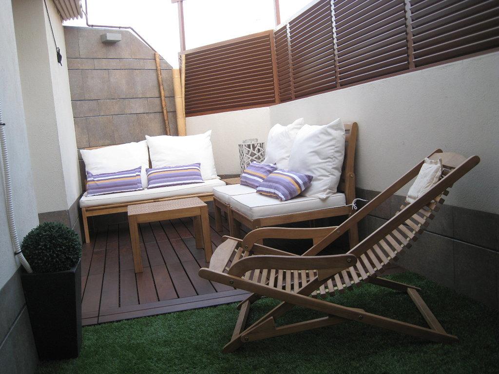 terrazas pequeas pero bien verdes